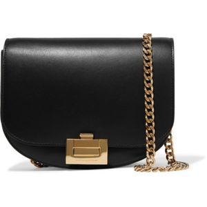 Victoria Beckham Half Moon Box Chain Leather